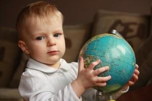 globus-dziecko
